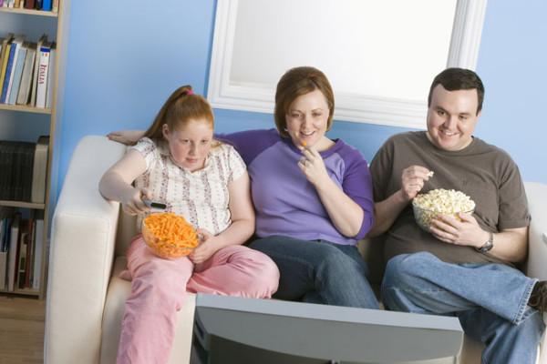 семейные проблемы при ожирении